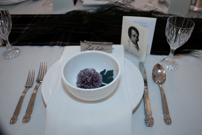 Place settings.