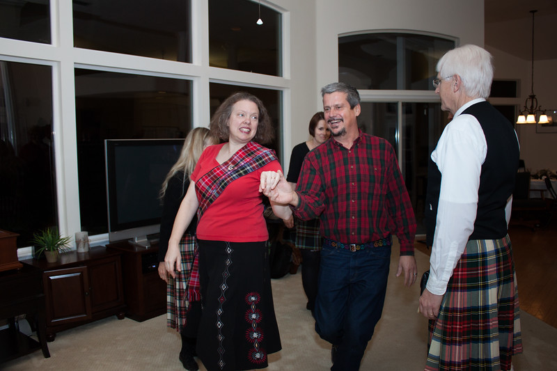No Burns Supper is complete unless there's dancing.