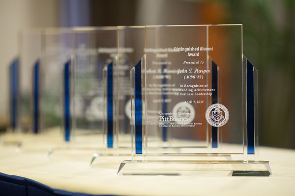 Business Alumni Awards Program 2017