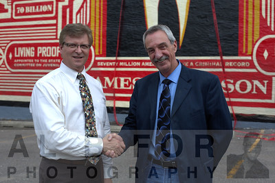 """June 23, 2016 SE """"Unveiling"""" of the James Anderson mural by Shepard Fairey"""