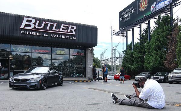 Butler Tire and Vossen Wheels Pop-Up Show
