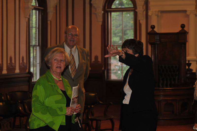 Emory&Henry celebrates Opening of Renovated Byars Hall Wednesday, Sept. 10 2008