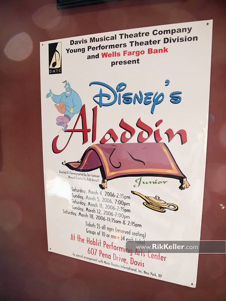 """Davis Musical Theatre Company's Young Performers' Theatre production of Disney's Aladdin<br />  <a href=""""http://www.dmtc.org/default.htm"""">http://www.dmtc.org/default.htm</a>"""