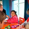 Kindergarten garden day - studying worms