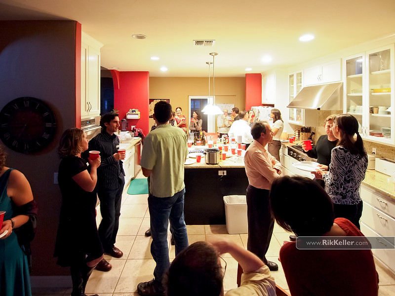 Spanish Immersion Progressive Dinner - hors d' oeuvres