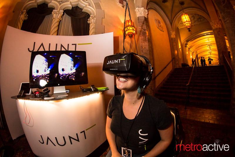 Jaunt VR Booth