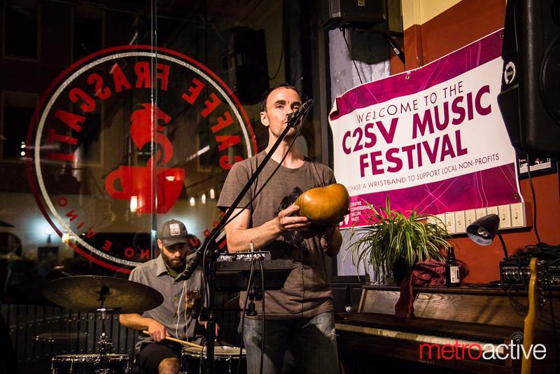 David Knight @ Cafe Frascati