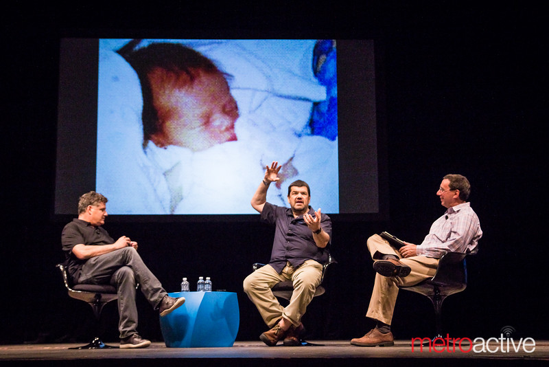 Dan Pulcrano, Philippe Khan & John Markoff