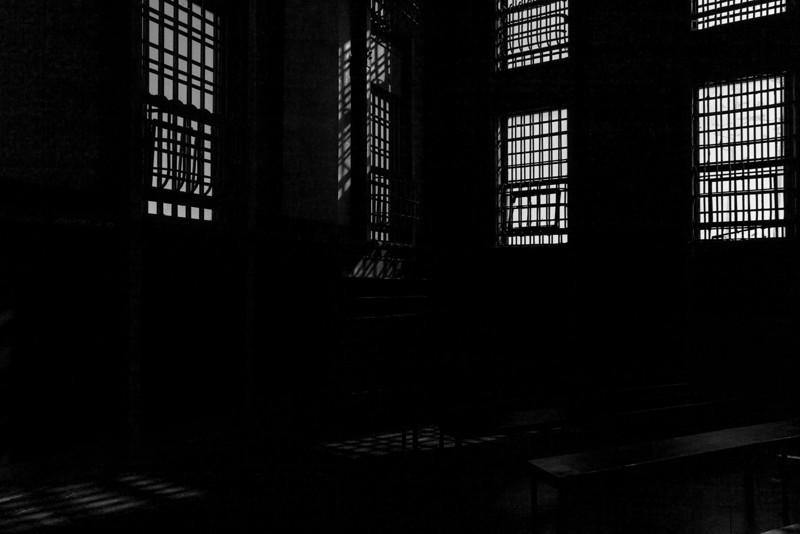Barred windows, Alcatraz.