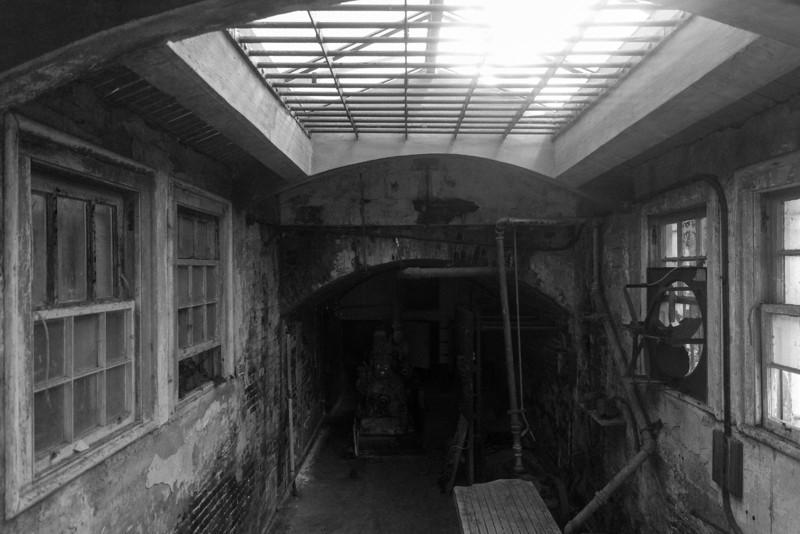 Alcatraz morgue.