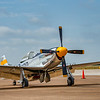 P-51 Mustang -  long-range, single-seat fighter and fighter-bomber used during World War II and the Korean War,