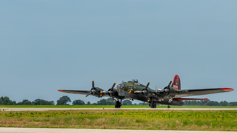 B-17 Flying Fortress - The rugged B-17 heavy bomber was developed as a strategic bomber in the 1930s. It proved efficient, enough to where it was used in every theater of the war. Legendary for its ability to sustain heavy damage in battle and bolstered by its nearly self-sufficient firepower, B-17s were most often used for daytime raids over Germany, as well as to wreak havoc on enemy shipping in the Pacific