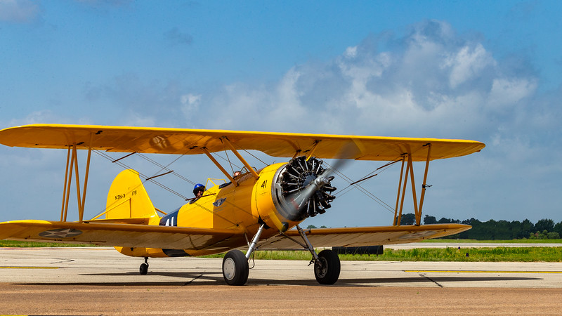 Naval Aircraft N3N - was the last biplane in US military service.  Used primarily for training.