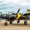 A-26 Night Mission Invader -  An American twin-engined light bomber and ground attack aircraft.  This was the fastest twin engine bomber in WW II.  The A-26 was in service during three wars - WW II, Korean War, and the early years of Viet Nam conflict.