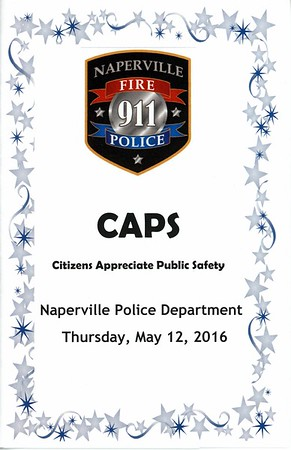 Naperville Police Department - CAPS Ceremony - May 12, 2016