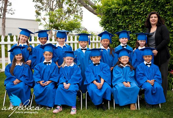 CCYL 2010-2011 Kinder Class Grad Photos