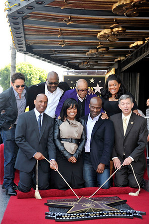 BeBe and CeCe Winans honored with a star on the Hollywood Walk Of Fame. Family and friends join CeCe and BeBe Winans on october 20, 2011. CeCe and BeBe friends and President/CEO Hollywood Chamber of Commerce Leron Gubler  Valerie Goodloe