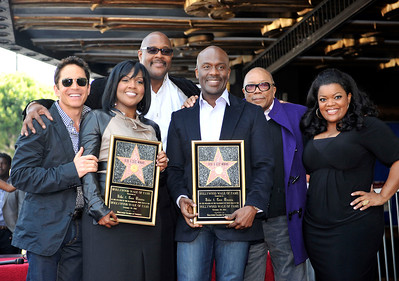 BeBe and CeCe Winans honored with a star on the Hollywood Walk Of Fame. Family and friends join CeCe and BeBe Winans on october 20, 2011. CeCe and BeBe Dave Koss, Marvin Winans, Quincy Jones, and Yvette Nicole Brown Valerie Goodloe