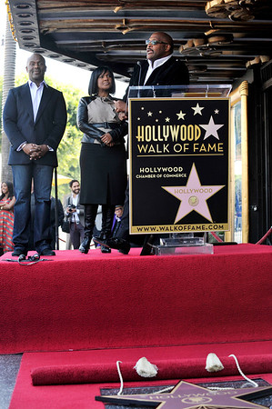BeBe and CeCe Winans honored with a star on the Hollywood Walk Of Fame. Family and friends join CeCe and BeBe Winans on october 20, 2011. CeCe and BeBe with older brother Marvin Winans Valerie Goodloe