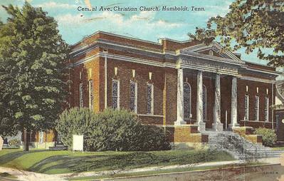 2013 CENTRAL AVE. CHRISTIAN CHURCH - Old Photos