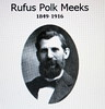 Bro Meeks in earlier years. His son, Dr. John Meeks, is in one of the early men's class photos.