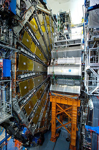 The ATLAS detector.
