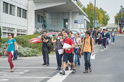CERN open day visitors.