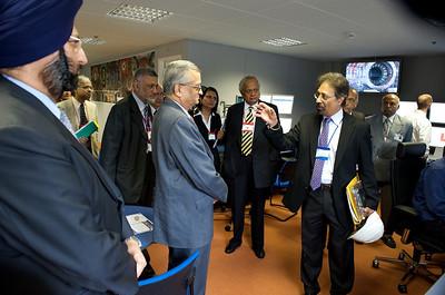 Indian delegation.