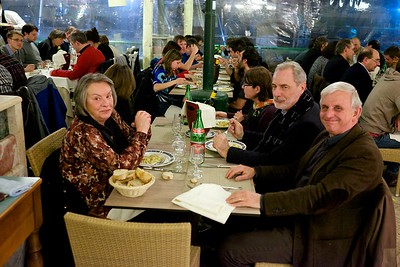 Conference dinner, Napoli, 2015.