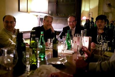 Convenors dinner, Napoli, 2015.