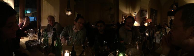 Conveners dinner, Napoli, 2015.