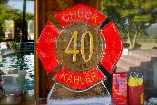 2010 CHF CHUCK KAHLER MARKS 40 YEARS