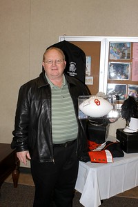 Auction; Danny Pearson took home OU football autographed by Jason White
