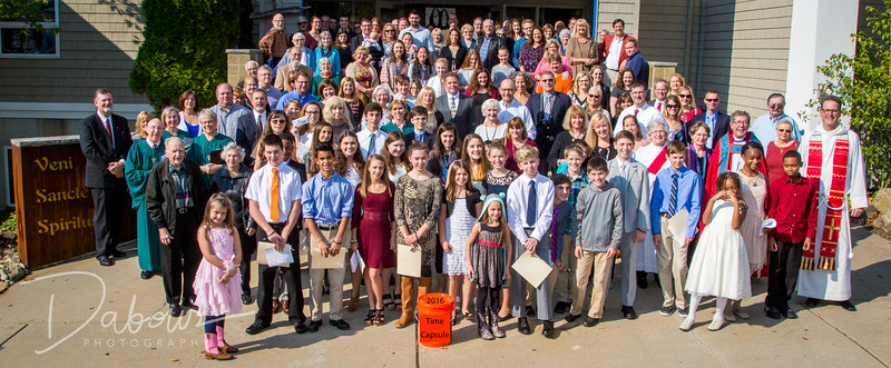 CHS Confirmation 2016