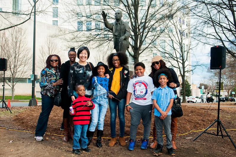 Carolinas HealthCare System Martin Luther King Jr Memorial Service @ Marshall Park 1-15-17 by Jon Strayhorn