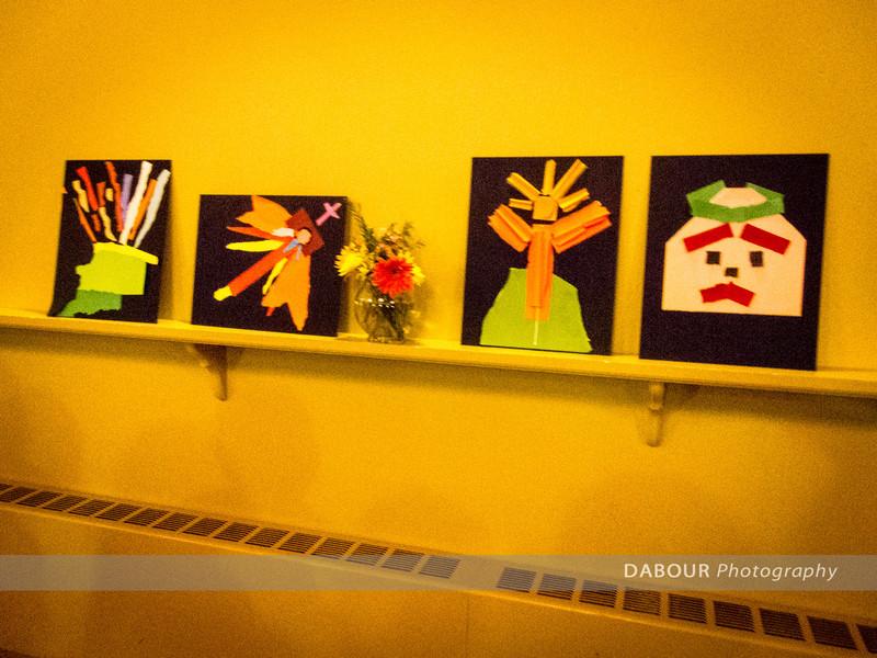Artwork produced by parishioners