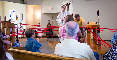 Welcome Back Sunday at Church of the Holy Spirit in Lebanon, NJ. Photo by   DAVE DABOUR