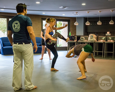 """Introduction to Capoeira"" with Capoeira Brasil San Diego"