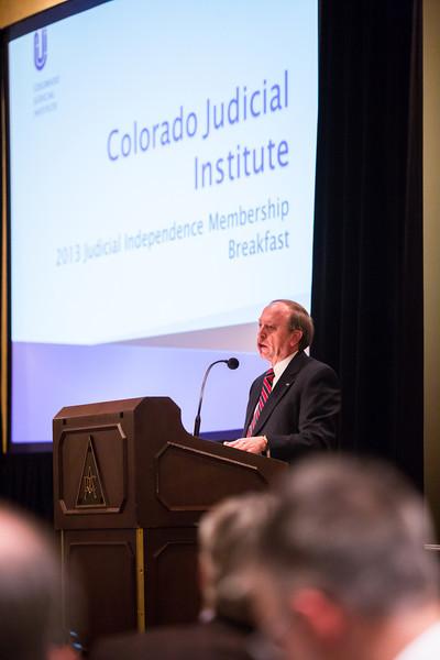 Colorado Judicial Institute 2013 Member Breakfast