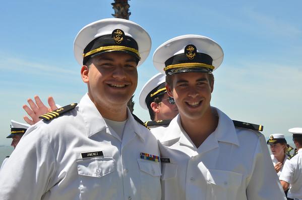 CMA 2013 graduation at Cal Maritime in Vallejo 5/11/13