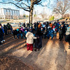 Martin Luther King Jr. March & Memorial Service @ Marshall Park 1-15-18 by Jon Strayhorn