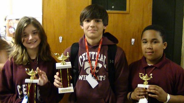 Central Middle School Social Studies Fair 3-1-11