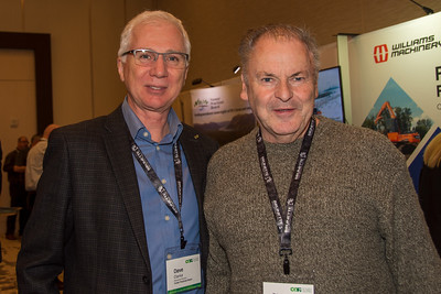 Dave Clarke (BC Forest Practices Board) and Dick Jones (Teal Jones Group)