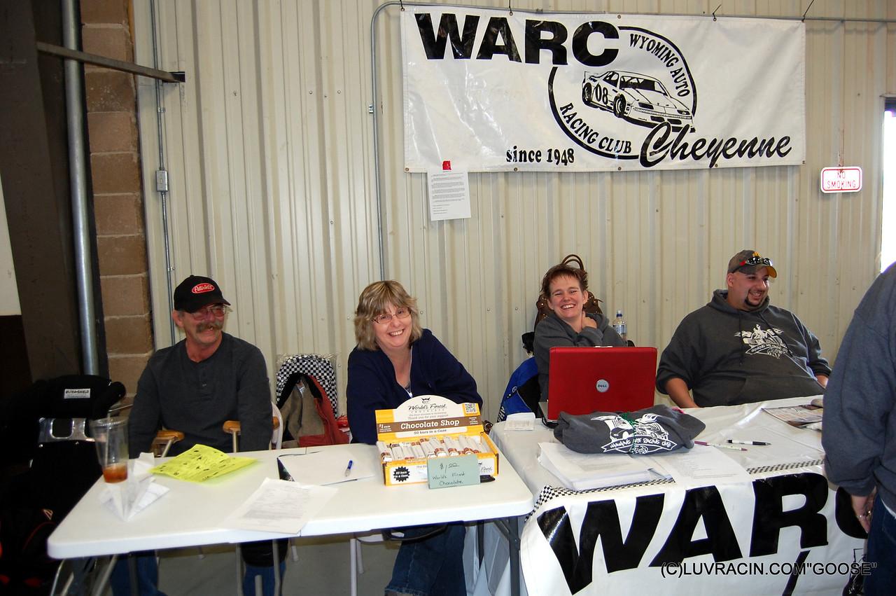 WARC , WYOMING AUTO RACING CLUB , CHEYENNE WO.
