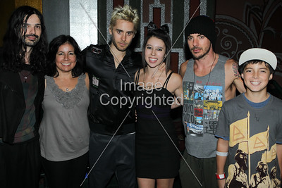 01-14-2011 Family with 30 Seconds to Mars. Photo taken by Goldenvoice.