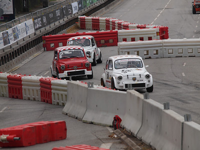 Classic race cars in the streets of Copenhagen. Photo: Martin Bager.
