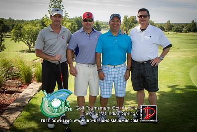 CREOKS Golf Tournament 10-6-14