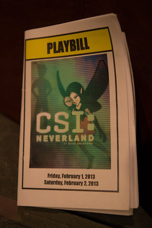 CSI Neverland-presented by Memorial Middle School-2.1.13