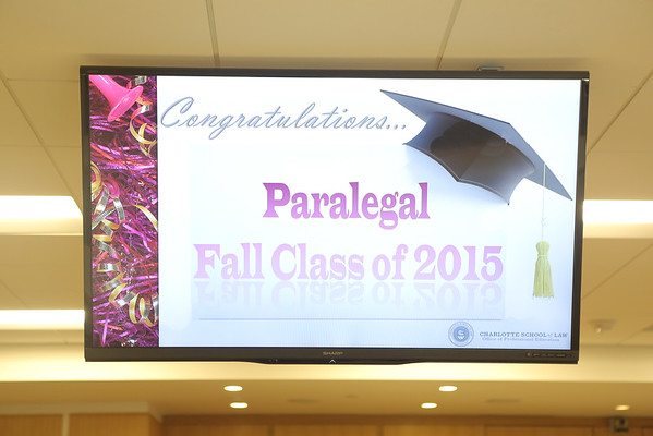 CSL Paralegal Graduation Fall 2015