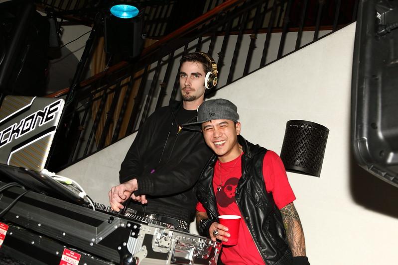 DJ Poet Named Life spinning at Celebrity Suites LA Oscars After Party